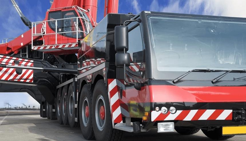 Transporte de máquinas e equipamentos pesados